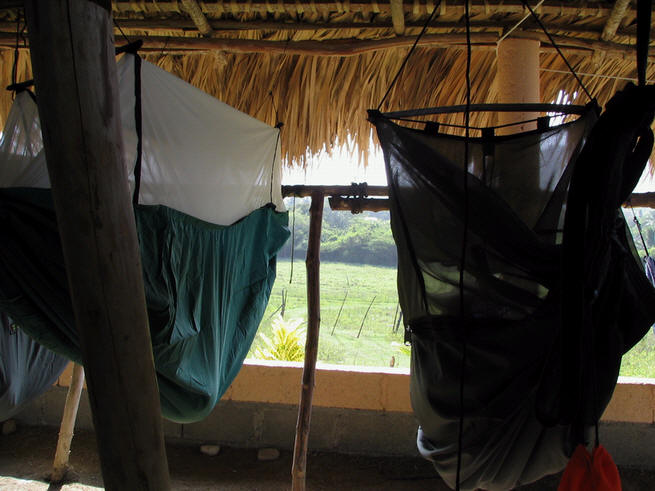 Eric Ballinger's Mosquito and Expedition Hammocks in Domincan Republic